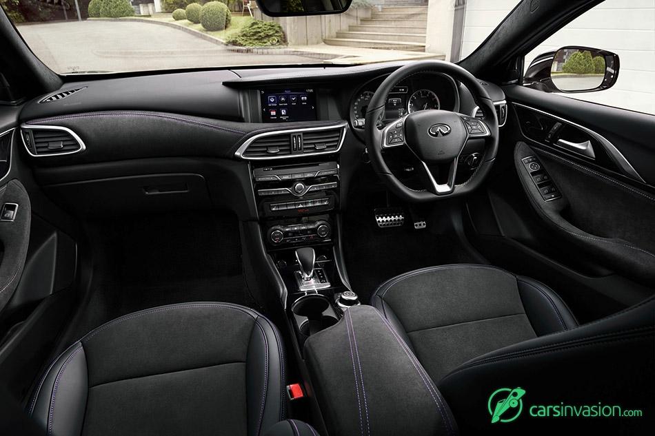 2016 Infiniti Q30 Interior