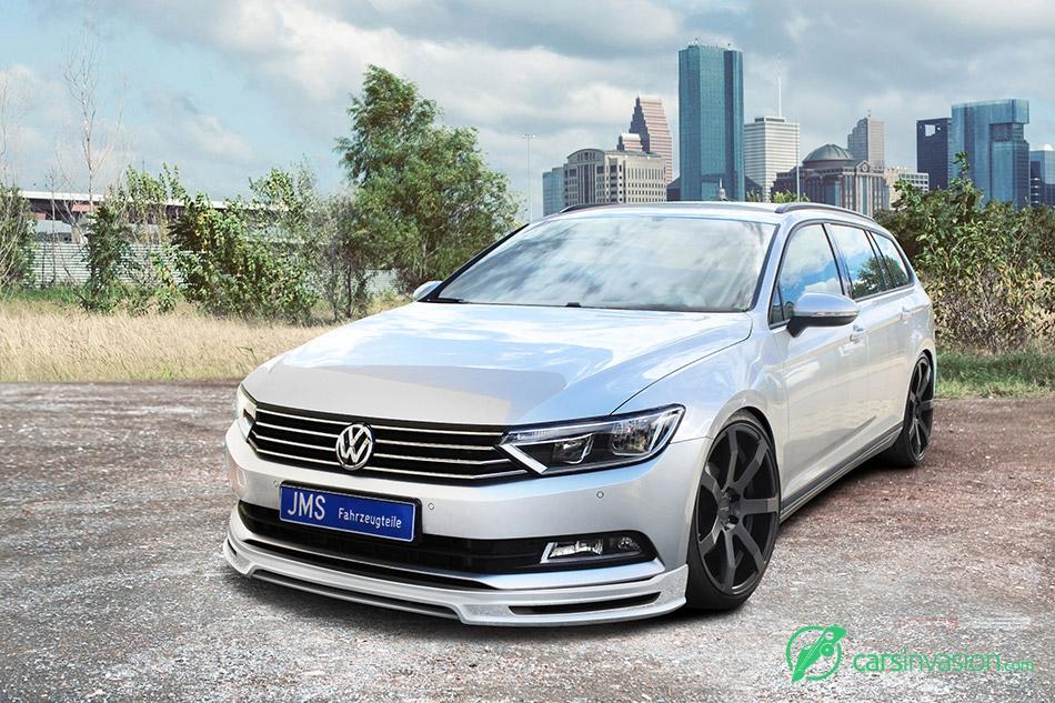 2015 JMS Volkswagen Passat 3C B8 Front Angle
