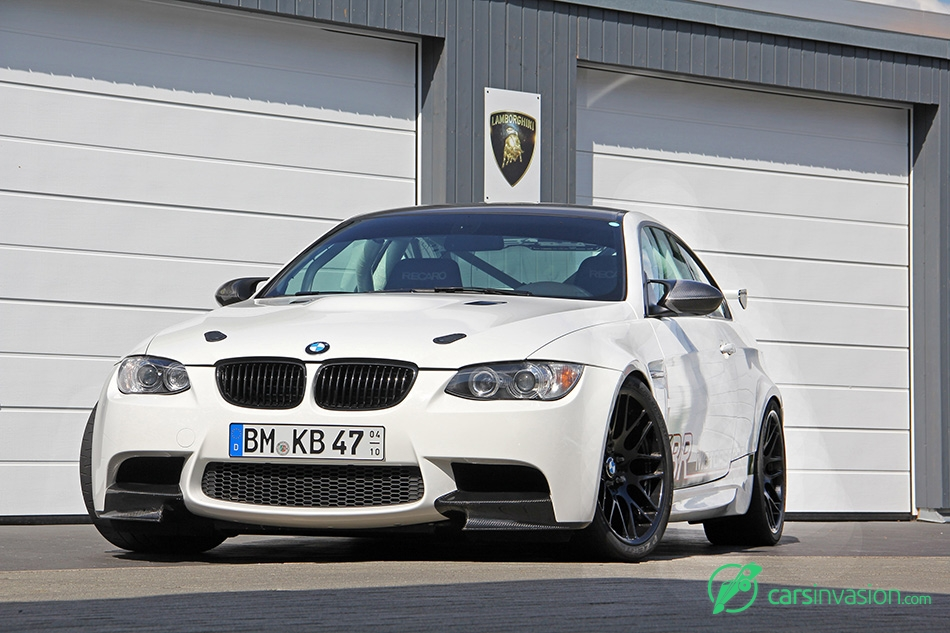 2015 KBR BMW M3 E92 Clubsport Front Angle