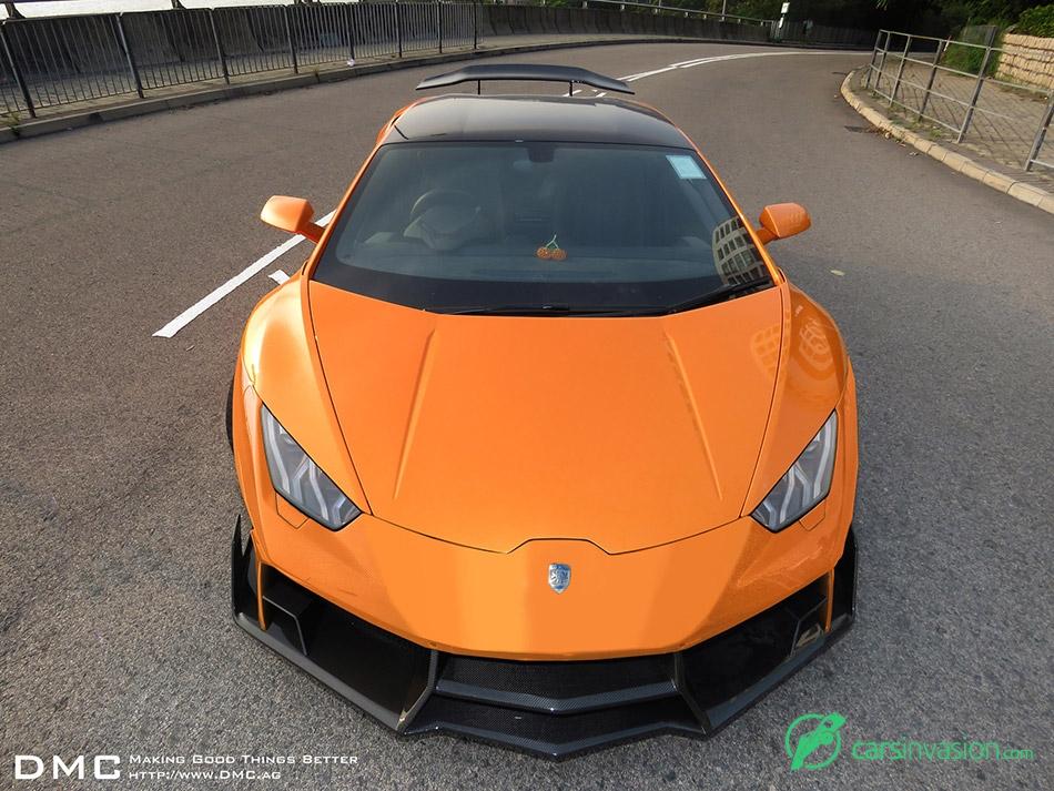2015 Lamborghini Huracan LP1088 E-GT Front Angle