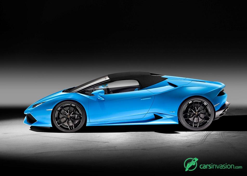 2017 Lamborghini Huracan LP610-4 Spyder Side