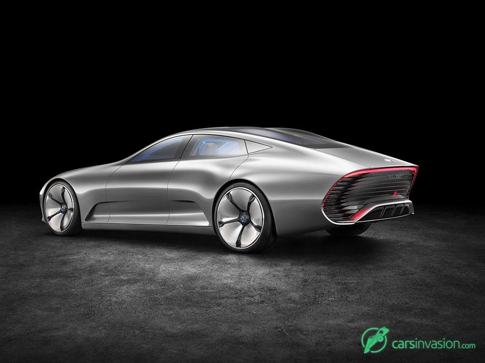 2015 Mercedes-Benz IAA Concept Rear Angle
