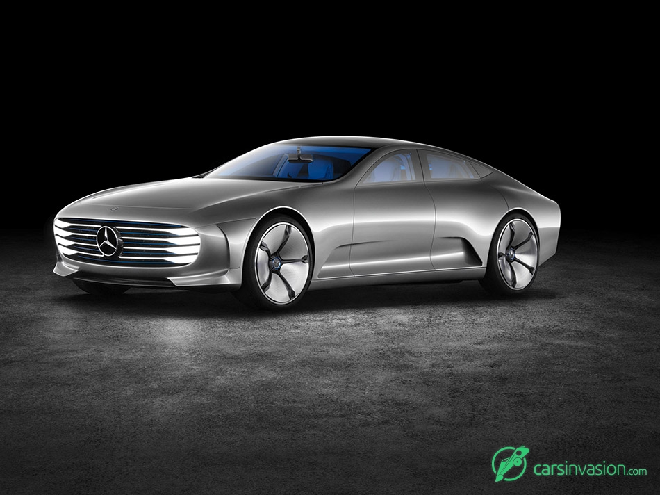 2015 Mercedes-Benz IAA Concept Front Angle