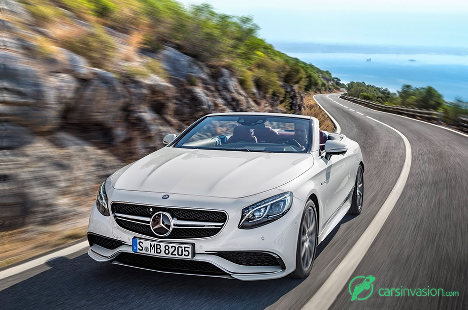 2017 Mercedes-Benz S-Class Cabriolet Front Angle Dynamic