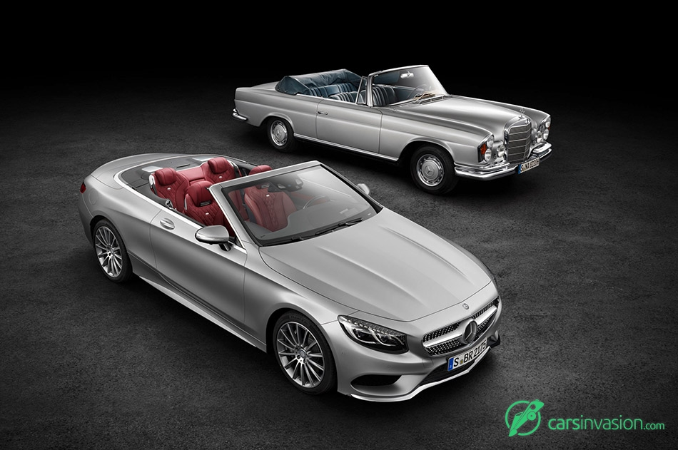 2017 Mercedes-Benz S-Class Cabriolet New and Old Model