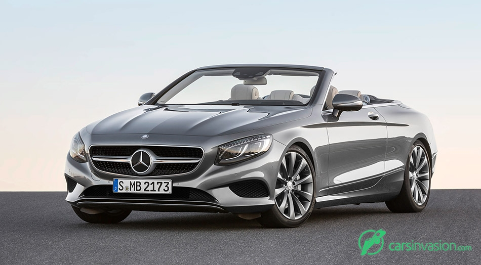 2017 Mercedes-Benz S-Class Cabriolet Front Angle