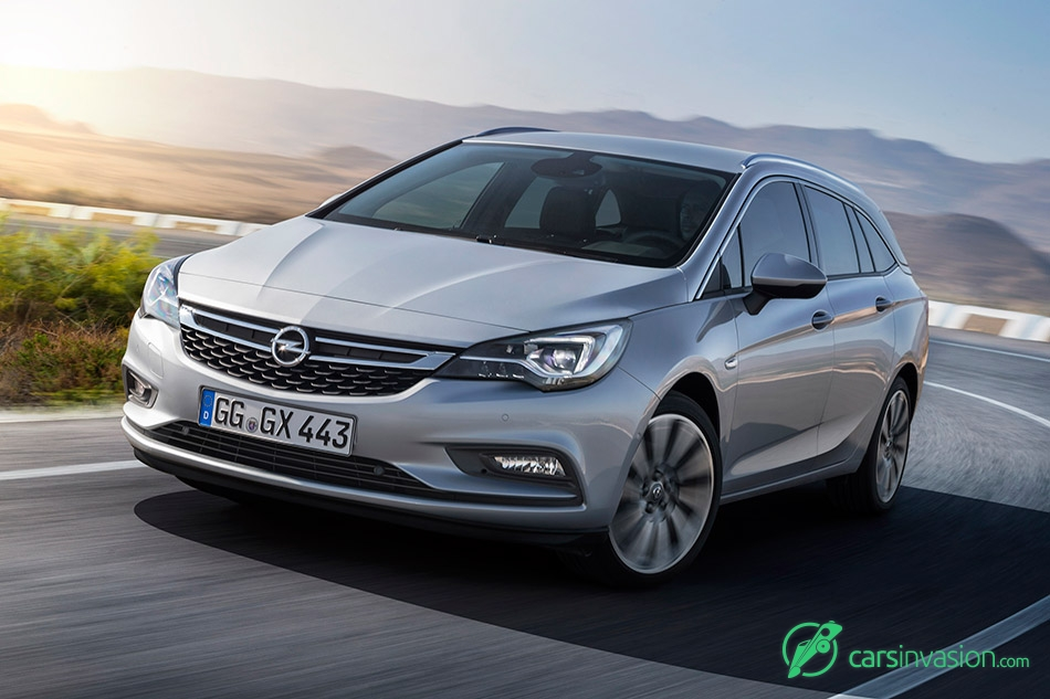 2016 Opel Astra Sports Tourer Front Dynamic