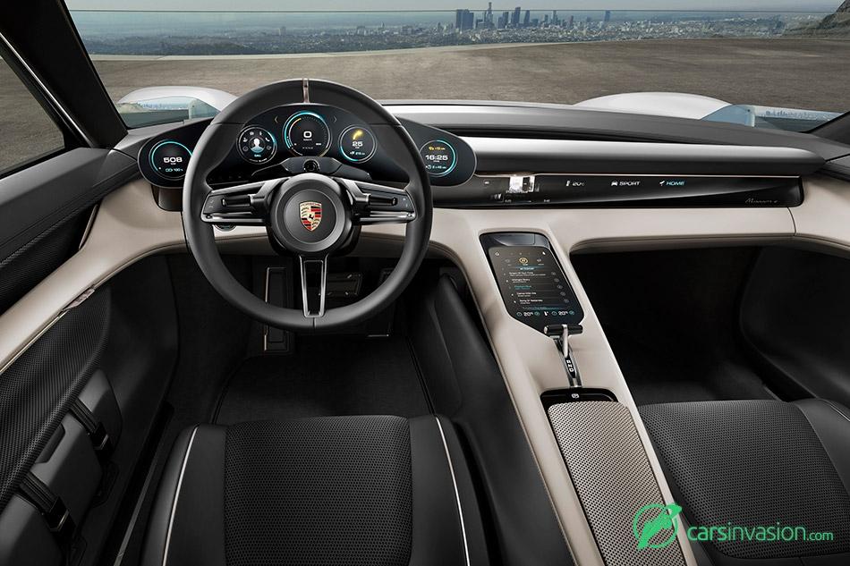 2015 Porsche Mission E Concept Interior