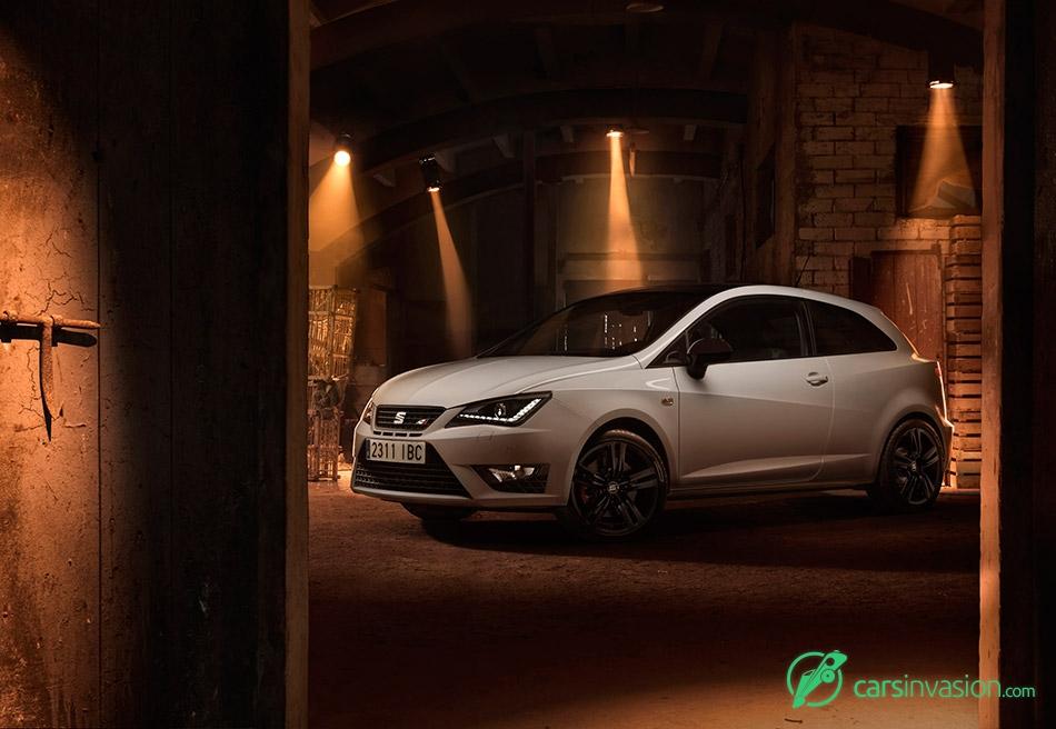 2016 Seat Ibiza Cupra Front Angle