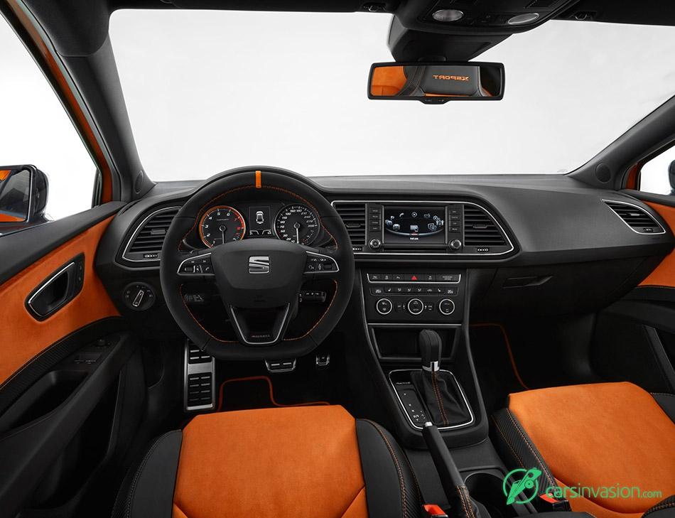 2015 Seat Leon Cross Sport Concept Interior