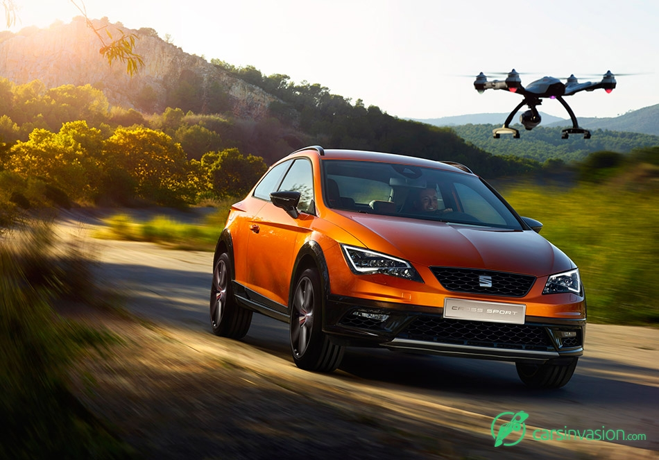 2015 Seat Leon Cross Sport Concept Front Angle