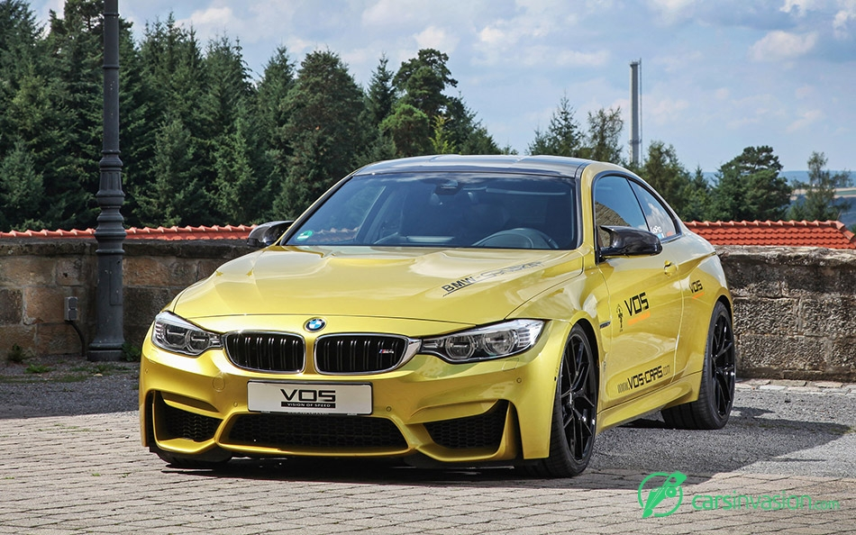 2015 VOS BMW M4 Front Angle