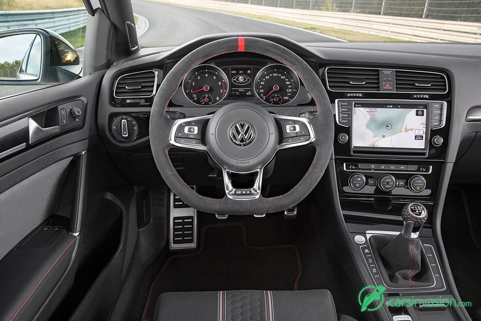 2016 Volkswagen Golf GTI Clubsport Interior