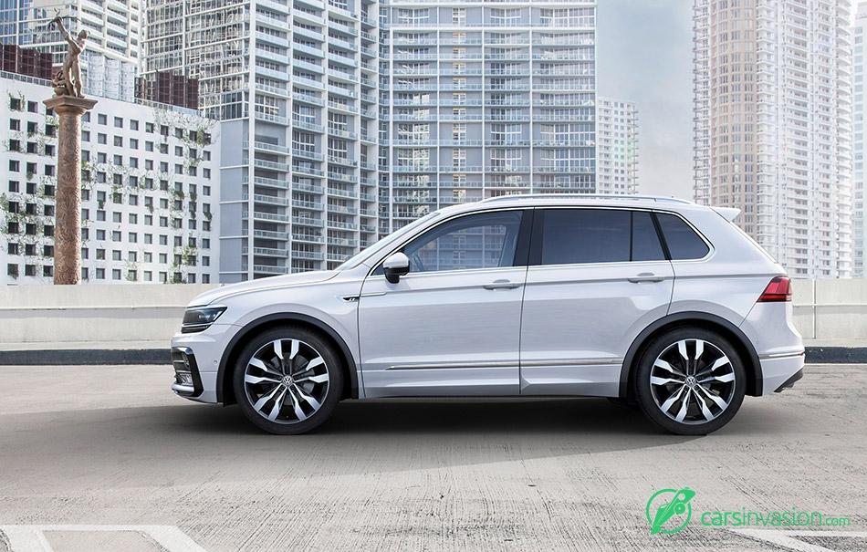 2017 Volkswagen Tiguan Side