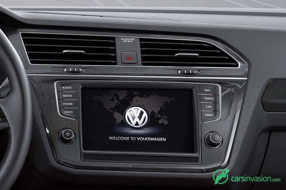 2017 Volkswagen Tiguan Touchscreen Display