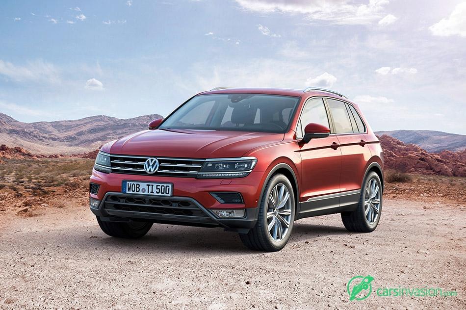 2017 Volkswagen Tiguan Front Angle