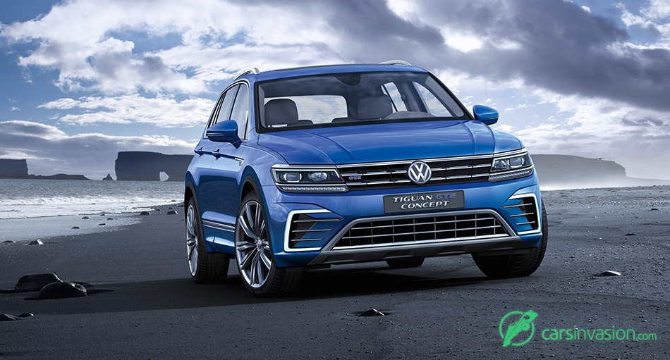 2015 Volkswagen Tiguan GTE Concept Front Angle