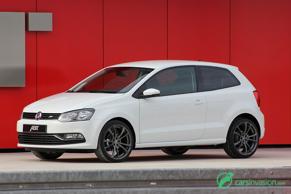 2015 ABT Volkswagen Polo Front Angle