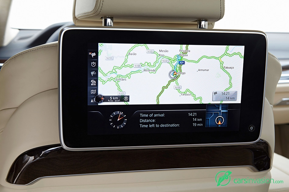 2016 BMW 7-Series UK-Version Navigation Display