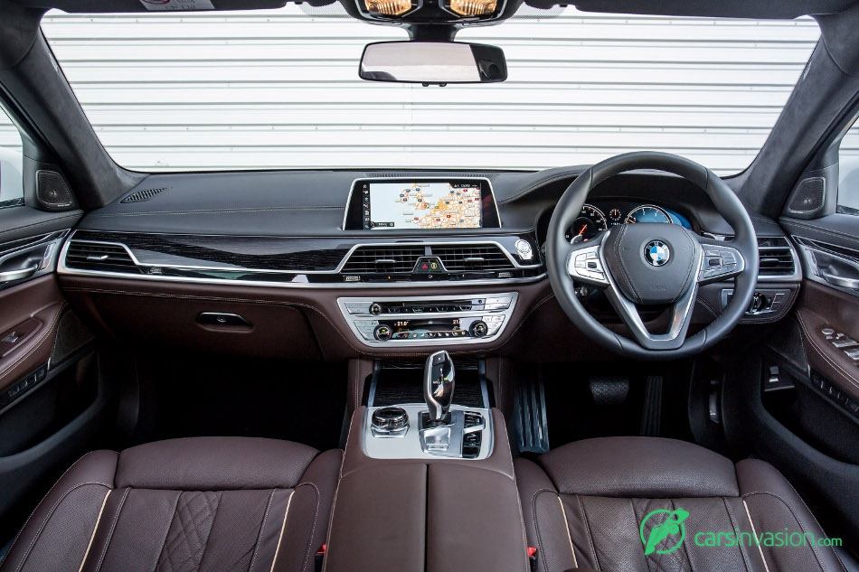 2016 BMW 7-Series UK-Version Interior