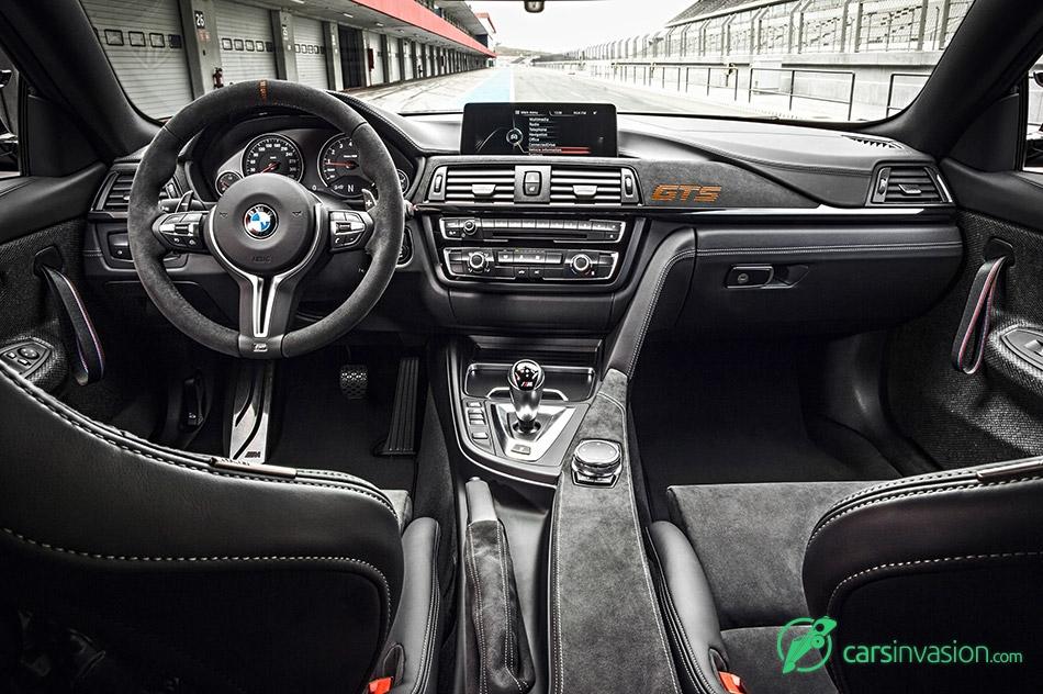 2016 BMW M4 GTS Interior