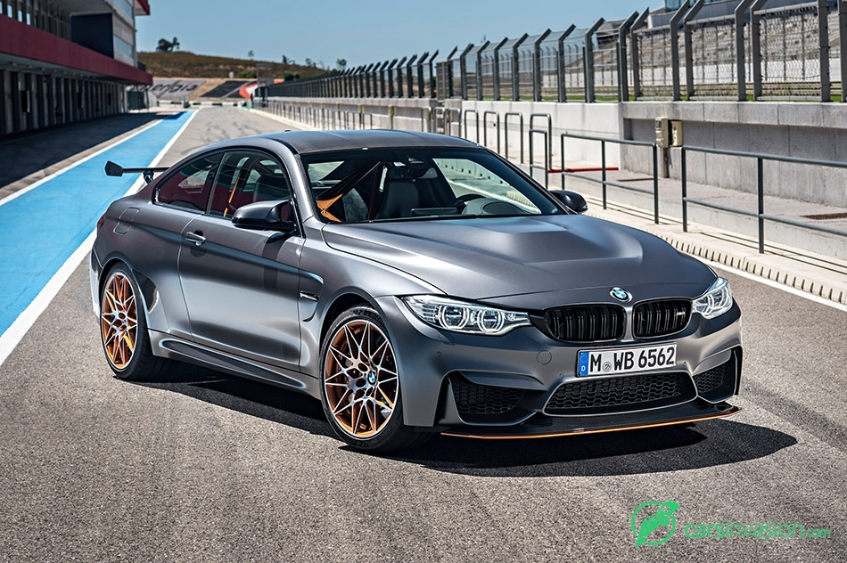 2016 BMW M4 GTS Front Angle