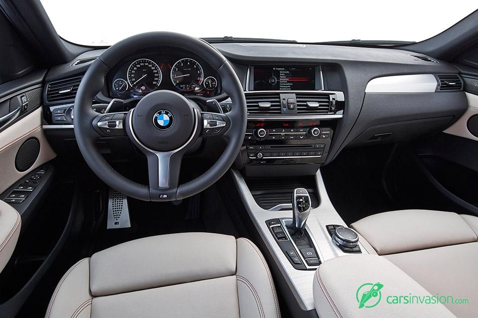 2016 BMW X4 M40i Interior