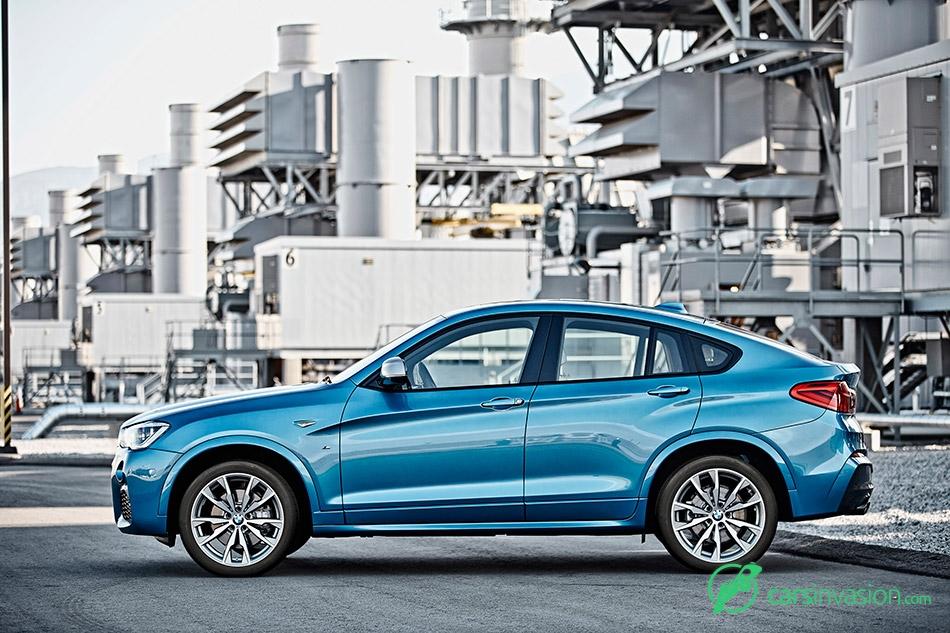 2016 BMW X4 M40i Side