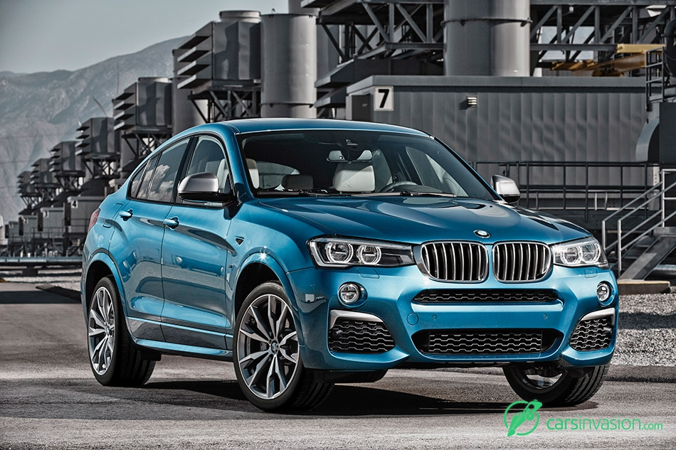 2016 BMW X4 M40i Front Angle