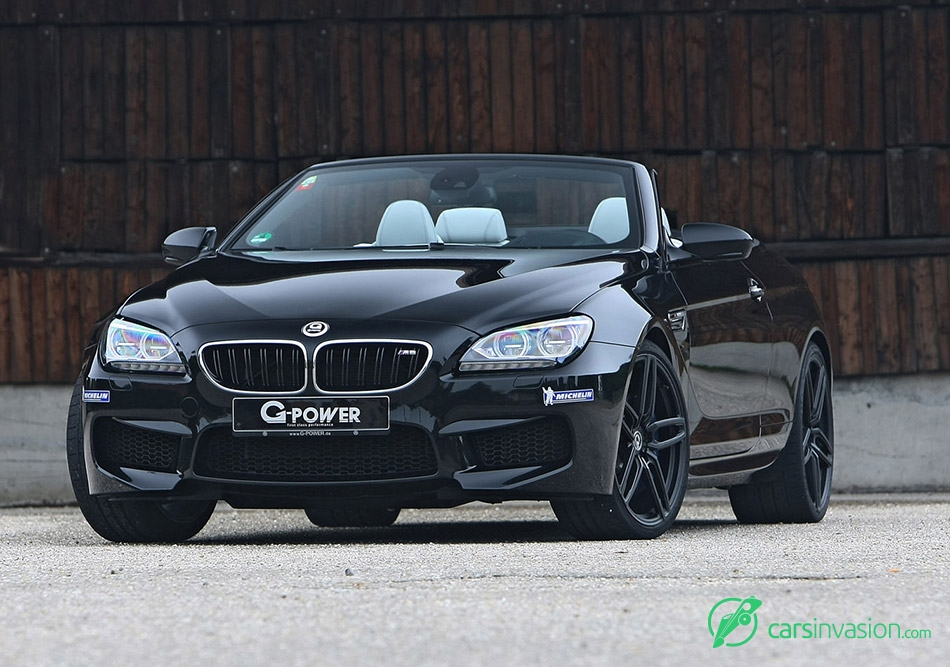 2015 G-Power BMW M6 F12 Convertible Front Angle
