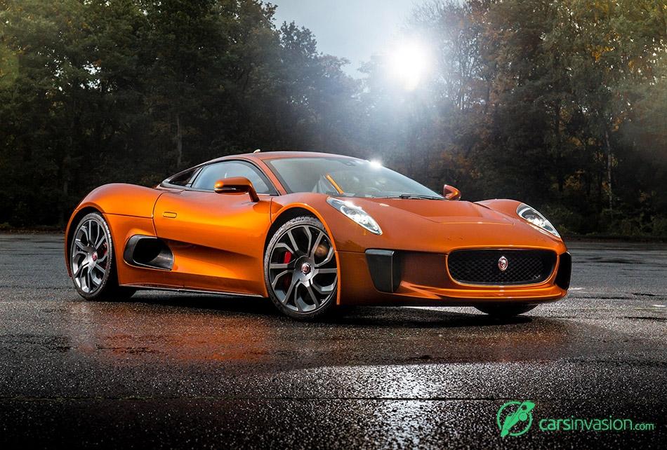 2015 Jaguar C-X75 Bond Concept Front Angle