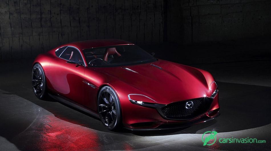 2015 Mazda RX-Vision Concept Front Angle
