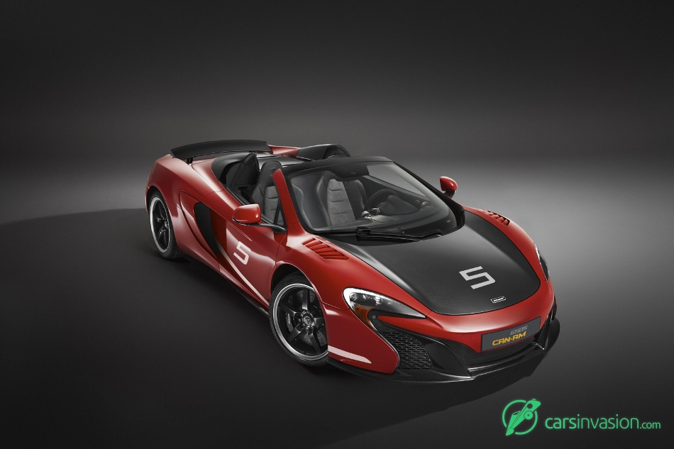2016 McLaren 650S Can Am Front Angle