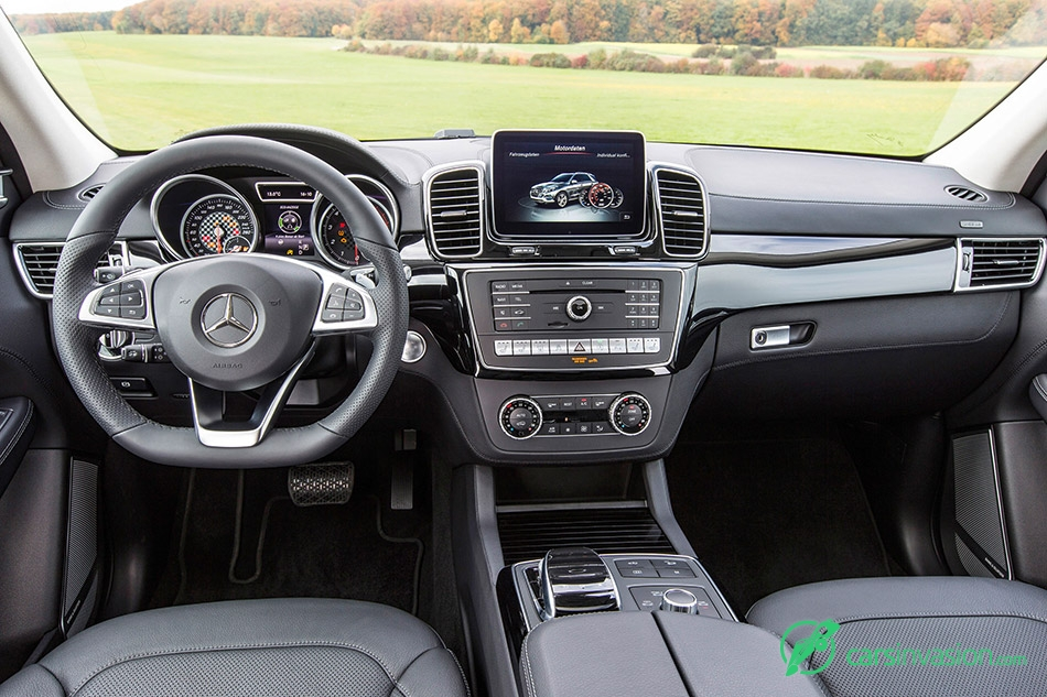 2016 Mercedes-Benz GLE450 AMG 4Matic Interior