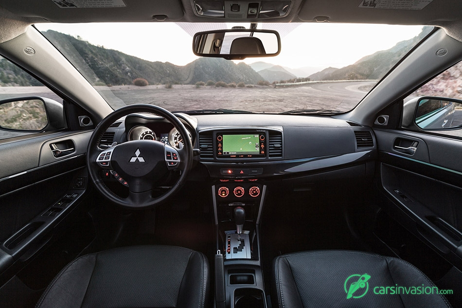 2016 Mitsubishi Lancer GT Interior