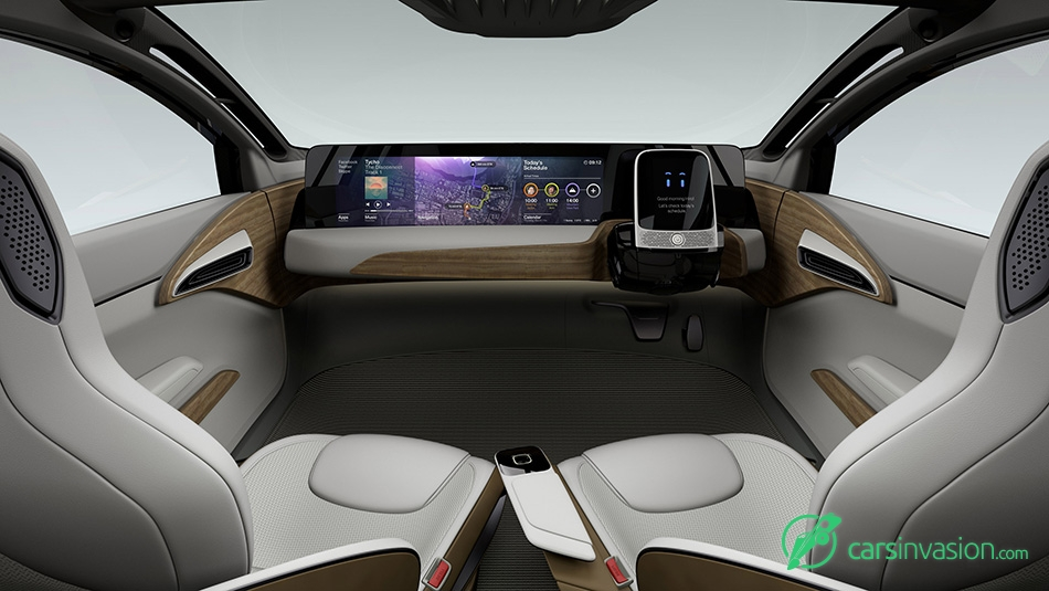 2015 Nissan IDS Concept Interior