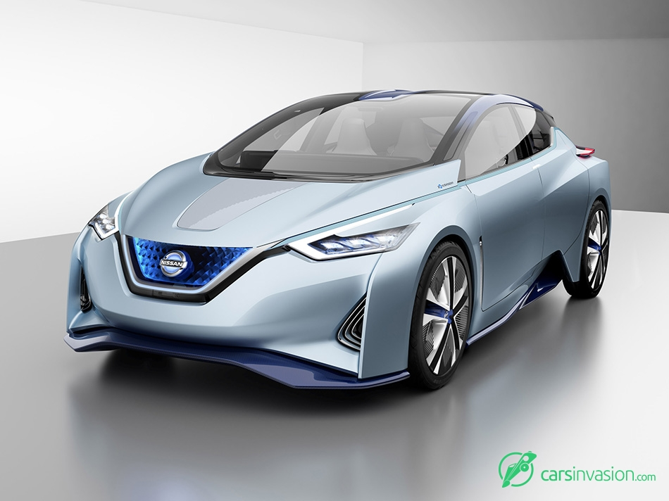 2015 Nissan IDS Concept Front Angle