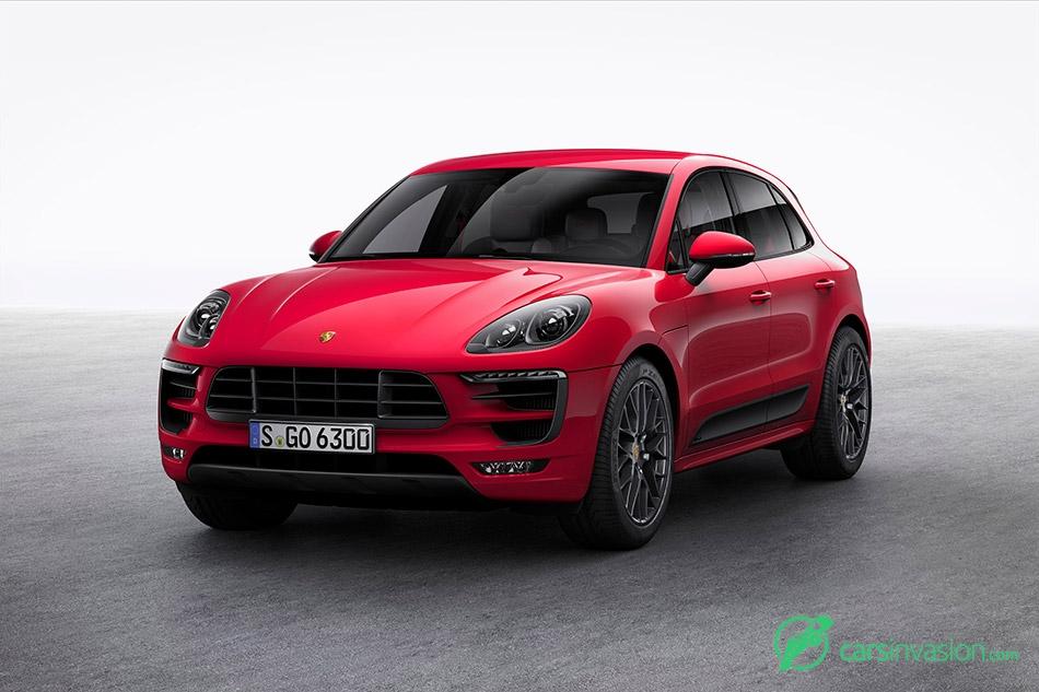 2017 Porsche Macan GTS Front Angle