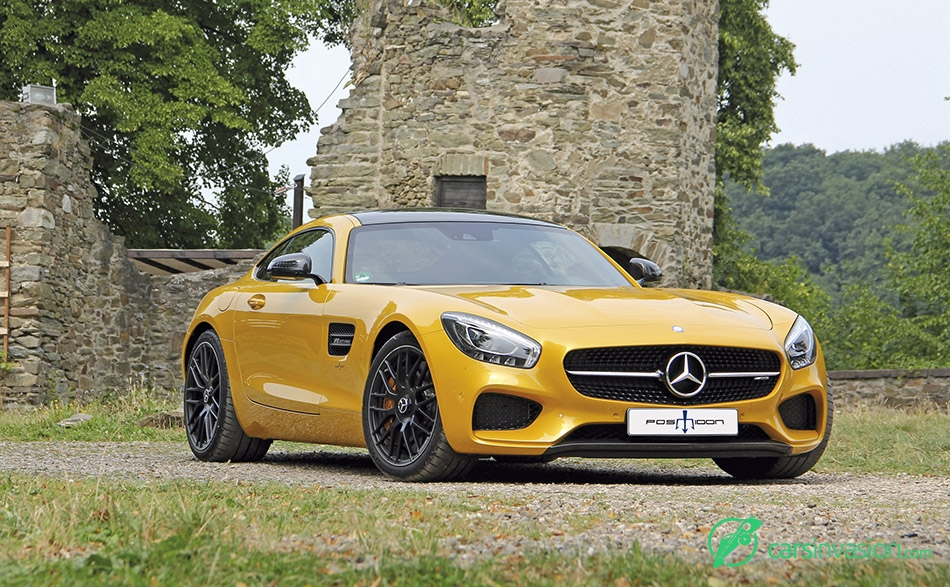 2015 Posaidon Mercedes-Benz AMG GT RS 700 Front Angle