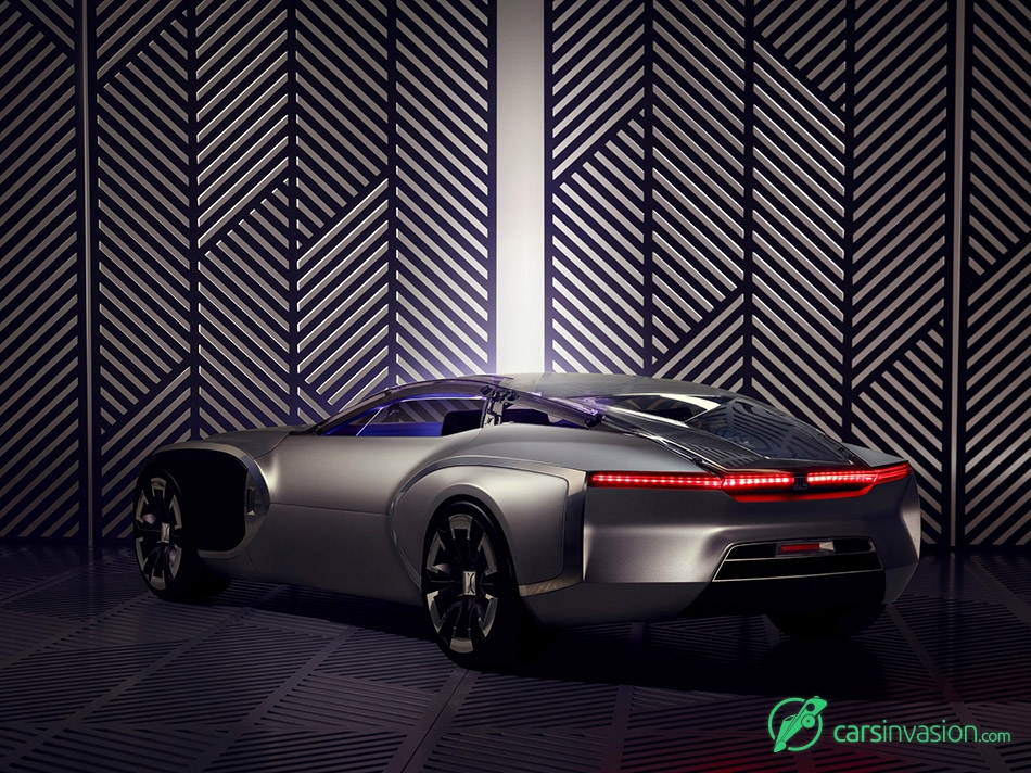 2015 Renault Coupe C Concept Rear Angle