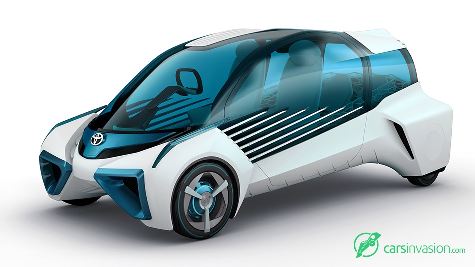 2015 Toyota FCV Plus Concept Front Angle