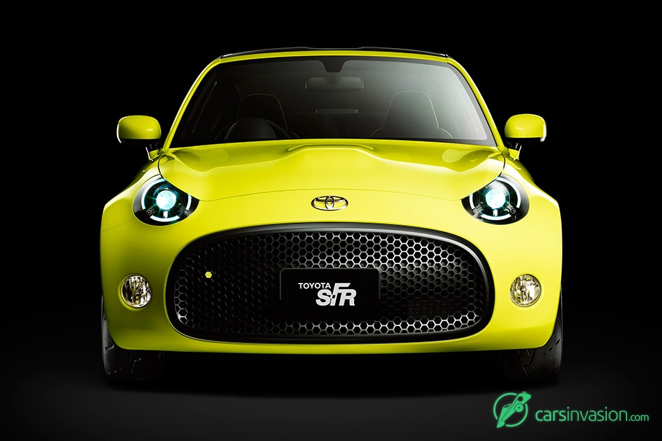 2015 Toyota S-FR Concept Front
