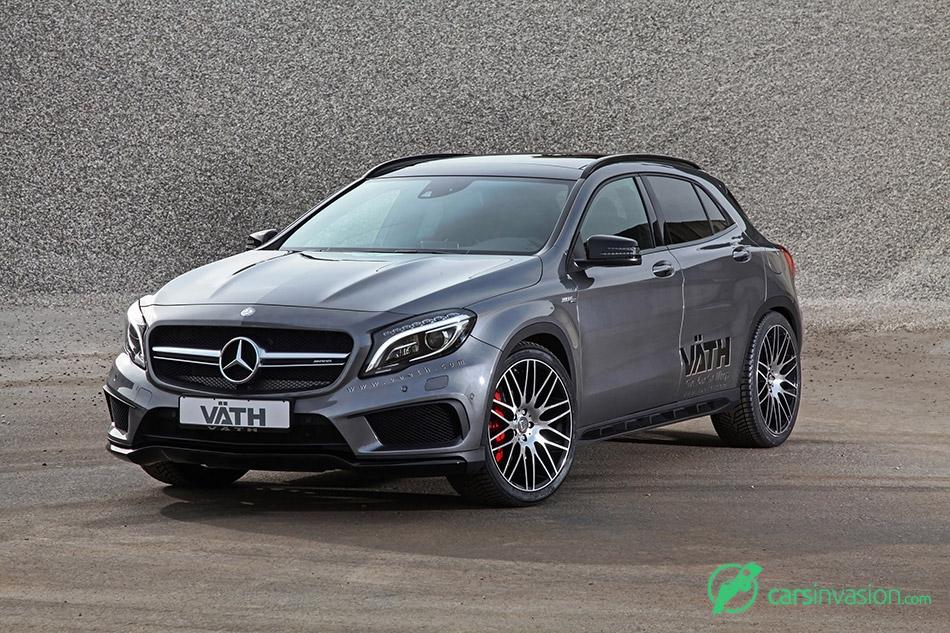 2015 Vath Mercedes-Benz GLA 45 AMG Front Angle