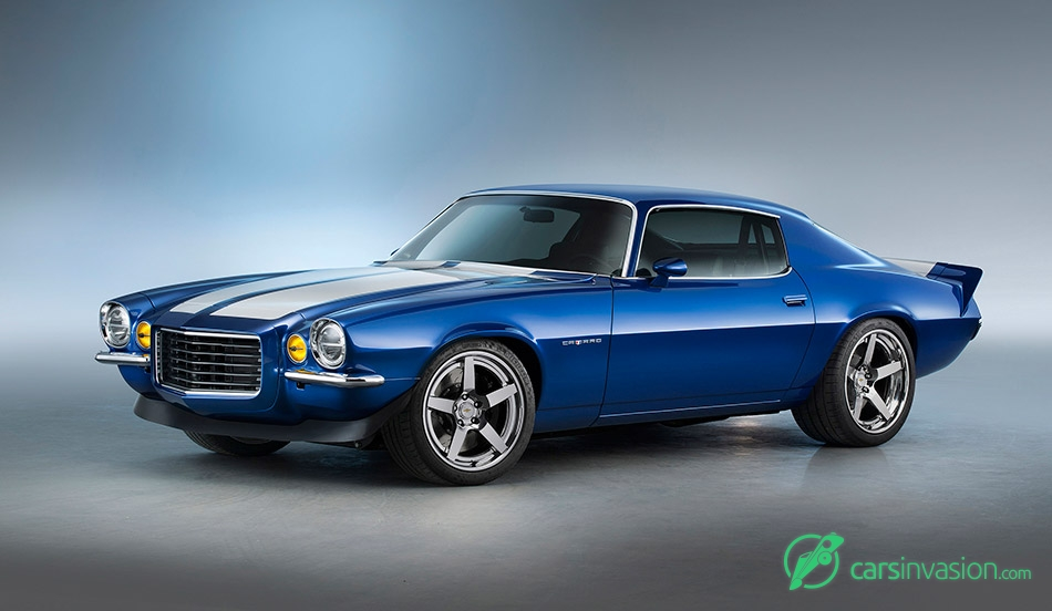 1970 Chevrolet Camaro RS Supercharged LT4 Front Angle