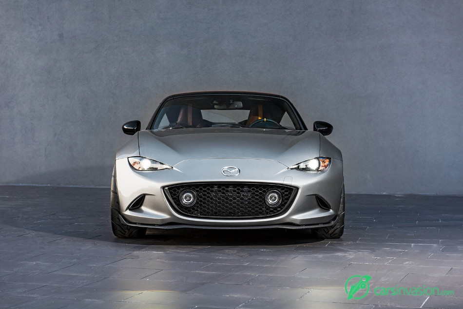 2015 Mazda MX-5 Spyder Concept Front Angle