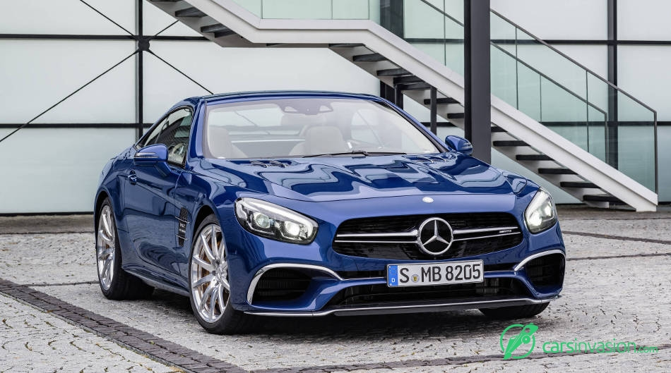 2017 Mercedes-Benz SL65 AMG Front Angle