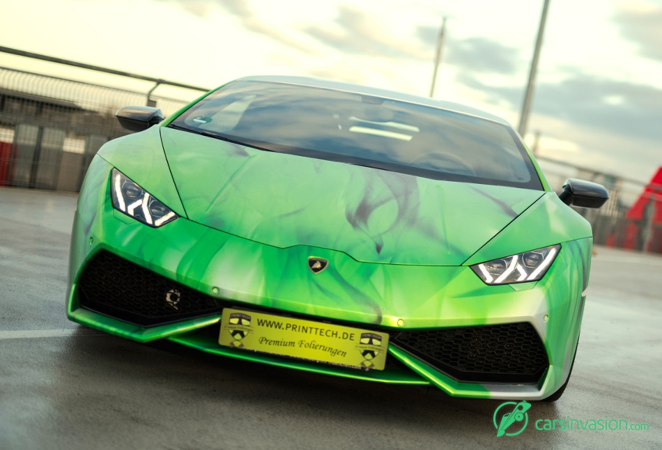 2016 Print Tech Lamborghini Huracan LP 610-4 Front Angle