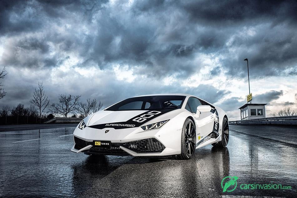 2016 OCT Lamborghini Huracan Front Angle
