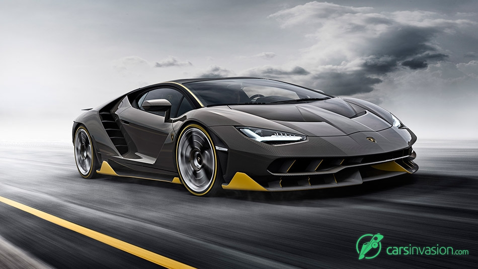 2017 Lamborghini Centenario Front Angle