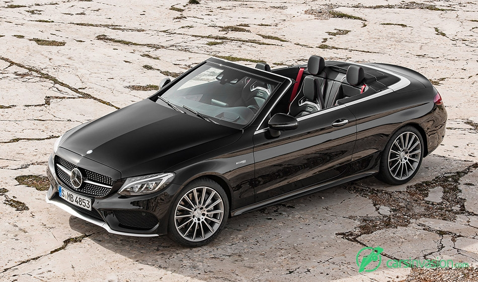 2016 Mercedes-AMG C43 4MATIC Cabriolet Front Angle